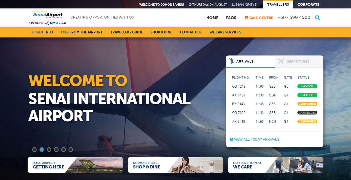 Senai International Airport Johor Bahru Malaysia Arrivals